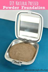 diy all natural pressed powder foundation