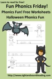 So you have a second grader? Free Phonics Worksheet For Halloween Fun Activity For Kindergarten