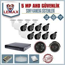 8 Kameralı 5 MP SONY LENS 1440P Güvenlik Kamerası Sistemleri - DAHA İYİSİ  YOK - HARDDİSK DAHİL Fiyatı ve Özellikleri - GittiGidiyor