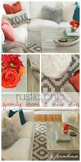 Rug For Living Room Rustic Chic Family Room New Rug City Farmhouse