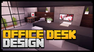 how to make office desk. unique desk minecraft xbox how to make an office desk tutorial simple u0026 easy computer  desk  youtube intended a
