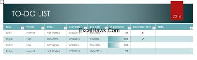 Todo List In Excel Free Writable To Do List Template In Ms Excel Free Excel