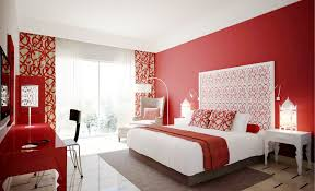 Red Bedroom Decorations Bedroom Amazing Modern Red Bedroom Design With Flat Bed Red