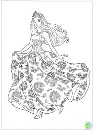Small Picture Unique Barbie Princess Coloring Pages 14 With Additional Picture