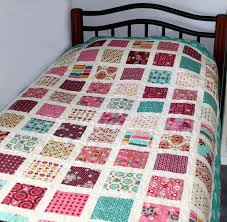I'm so excited to have another new pattern being released this ... & Sew Little Fabric by Paula Storm: My New Pattern - The Charm Square Bed  Quilt Adamdwight.com