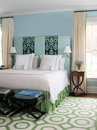 blue and green bedroom. Clever Combination Blue And Green Bedroom