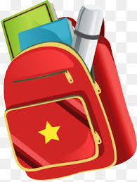 painted red book bag pattern hand painted red bag pattern books png and