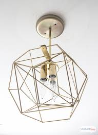 diy geometric globe pendant light atta girl says geometric chandelier lighting