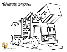 Small Picture city garbage truck on dump truck coloring page Kids Play Color