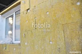 windows area external wall insulation with fiberglass