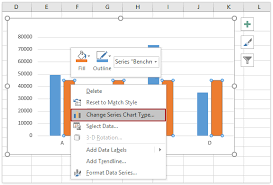 Add Benchmark Line To Excel Chart How To Add Horizontal Benchmark Target Base Line In An Excel
