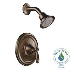 oil rubbed bronze bathtub tub trim drain assembly. brantford 1-handle posi-temp shower only trim kit in oil rubbed bronze bathtub tub drain assembly