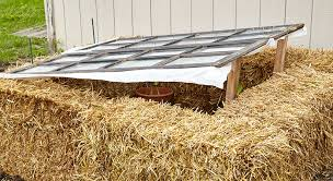 diy cold frames half covered too much sun if temperatures