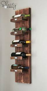 hanging wine rack best wall mounted racks ideas on holder for towels