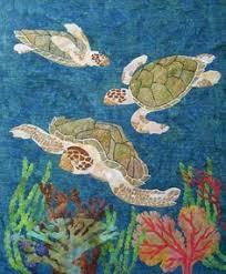 Sea Turtle Quilt | Sea turtle quilts, Turtle quilt and Hanging art & Quilt Inspiration classics: Aquarium quilts and seascapes. Sea Turtle ... Adamdwight.com