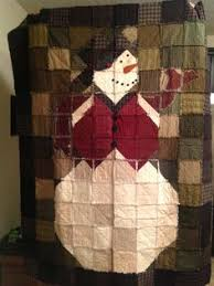 Frosty the Snowman Rag Quilt Pattern by Karla by FlannelLand ... & Frosty the Snowman Rag Quilt Pattern by Karla by FlannelLand | Quilts |  Pinterest | Rag quilt patterns, Rag quilt and Snowman Adamdwight.com