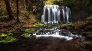 Tatsuzawa Fudo Falls Fukushima Japan Landscape Nature 4k Hd