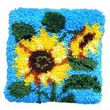 sunflower latch hook kit