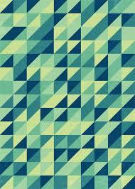 Retro triangle pattern