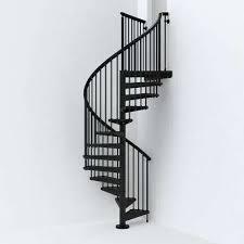 black spiral staircase kit