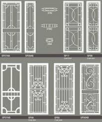 decorative security screen doors. Hinged Doors Decorative Security Screen E