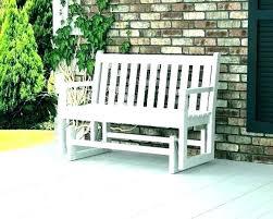 outdoor glider chair plans wooden swing en s