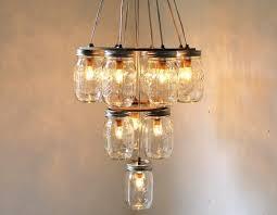 diy mason jar chandelier make your own light fittings