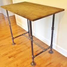 office desk wood. Desk, Handmade Wooden Office Industrial Computer Desk Wood R