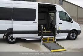wheelchair lift for van. Conversion Van Side Door Lift Wheelchair For T