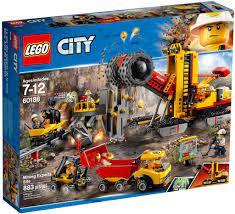 Đồ chơi lắp ráp LEGO City 60188 - Đội Xe Đào Mỏ Chuyên Nghiệp (LEGO City  60188 Mining Experts Site) giá rẻ tại cửa hàng LegoHouse.vn LEGO Việt Nam