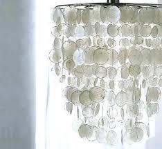 diy faux capiz shell chandelier shell chandelier how to make a faux capiz shell chandelier