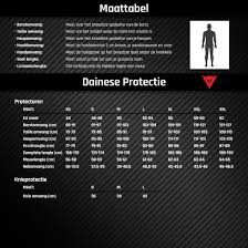 Dainese Size Chart Dainese Light Wave D1 3 Protector Jacket