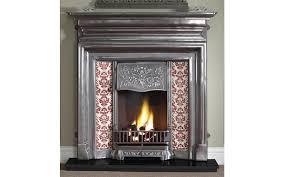 edwardian cast iron fireplace with cast fireplaces