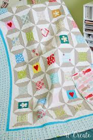 DIY Quilt Block Coasters & Spool Quilt at U Create … Adamdwight.com