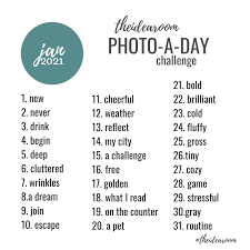 january photo of the day challenge 2021