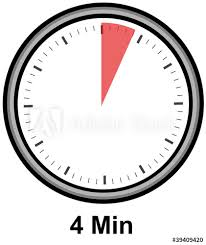 Timer 4 Min Timer 4 Minuten Buy This Stock Illustration And Explore