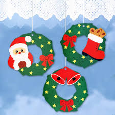 Mobile Aus Papier Weihnachtskränze