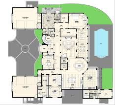 Villa Marina Floor Plan  Alpha Builders GroupLuxury Custom Home Floor Plans