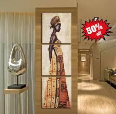 african women art 3 piece framed canvas set  on african woman wall art with african women art 3 piece framed canvas set epicprintz