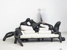 weird office chairs. This Body Sofa Was Created By Atelier Van Lieshout Which Founded Joep In Weird Furniture Office Chairs