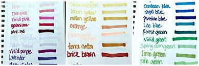 Ohuhu Color Chart Ohuhu Marker Chart