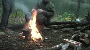 camping in the woods with a fire. Contemporary Camping Bivouac Backcountry Camping Survival Skill Priorities  Fire Wood And  Making Shelter YouTube Throughout In The Woods With A