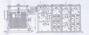 Реферат Монтаж комплектных трансформаторных подстанций Затем устанавливают ошиновку и ведут работы по монтажу вторичных цепей заземлению и освещению Кабели по территории подстанции укладывают в лотки или
