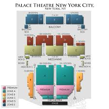 Disclosed Palace Theatre New York Seat View Broadway Seating
