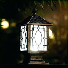 solar light fixtures lamp post lanterns fixture outdoor lighting cap garden system ceiling canada p