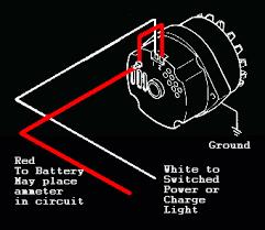 mini chevy alternator wiring diagram wiring diagram schematics gm 10si 3 wire alternator question the h a m b