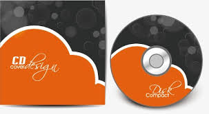 Cd Cover Vector Material Simple Fashion Cd Png And Vector For