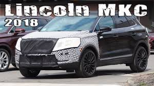 2018 lincoln small suv. fine small new 2018 lincoln mkc suv prorotype with continentalstyle grille intended lincoln small suv