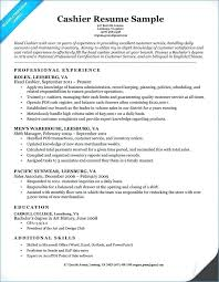 Cashier Job Description Resume Sample Examples Of Resumes For Extraordinary Cashier Responsibilities Resume