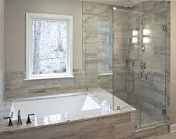 drop in tub with shower shower doors shower glass ca local glass master bath shower shower drop in tub with shower